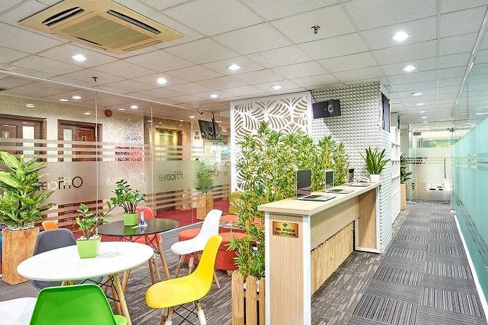 Coworking là không gian văn phòng chia sẻ tiện ích