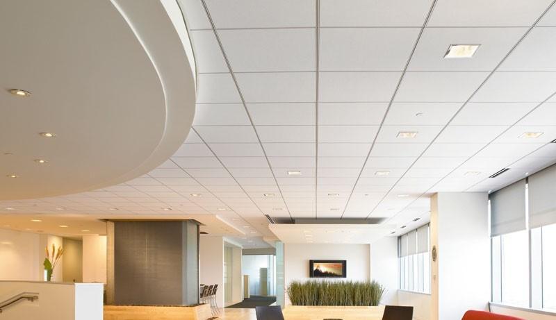 Tấm xi măng sợi làm trần nhà