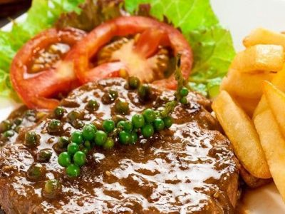 Thịt thăn bò làm steak - tại Steakhouse El Gaucho Tây Hồ