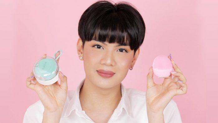 Beauty blogger Đào Bá Lộc sử dụng sản phẩm của Lixibox